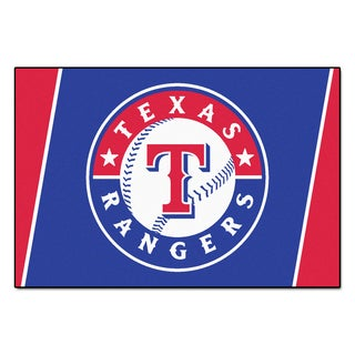 Fanmats MLB Texas Rangers Area Rug (5' x 8')