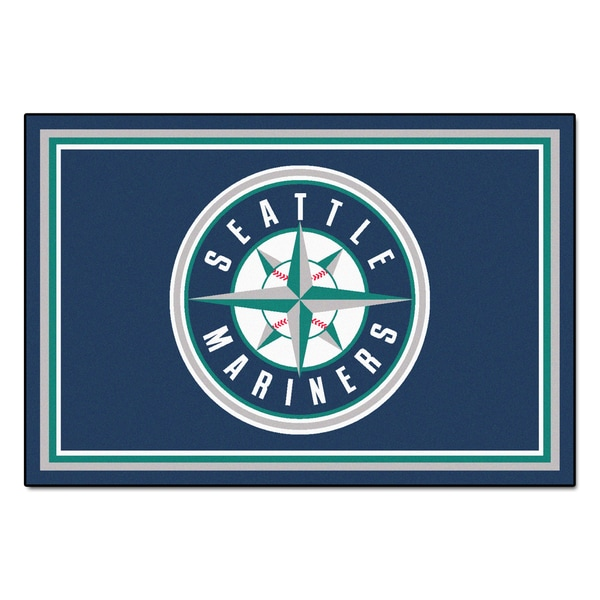 Fanmats MLB Seattle Mariners Area Rug (5' x 8')