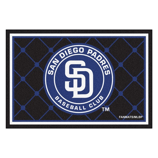 Fanmats MLB San Diego Padres Area Rug (5' x 8')