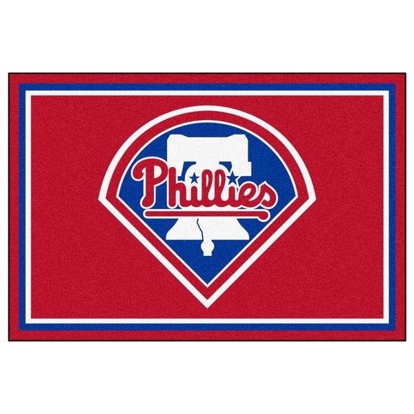 Fanmats MLB Philadelphia Phillies Area Rug (5' x 8')