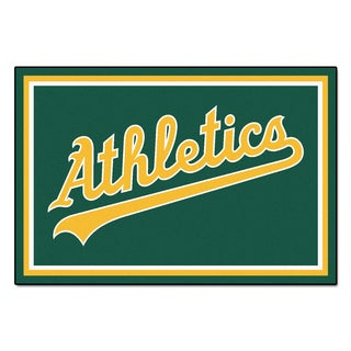 Fanmats MLB Oakland Athletics Area Rug (5' x 8')