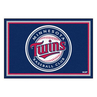 Fanmats MLB Minnesota Twins Area Rug (5' x 8')