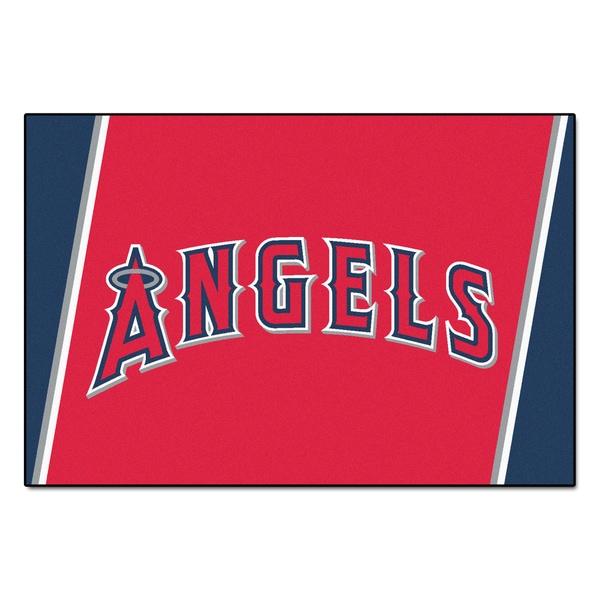 Fanmats MLB Los Angeles Angels Area Rug (5' x 8')