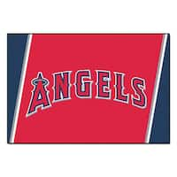 Fanmats MLB Los Angeles Angels Area Rug (5' x 8')