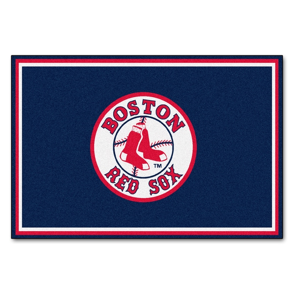 Fanmats MLB Boston Red Sox Area Rug (5' x 8')