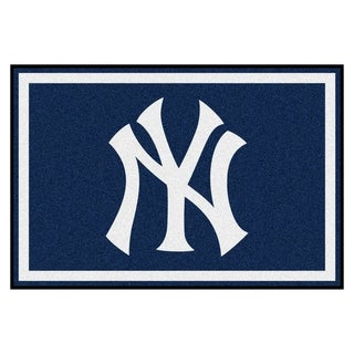 Link to Fanmats MLB New York Yankees Area Rug (5' x 8') Similar Items in Fan Shop