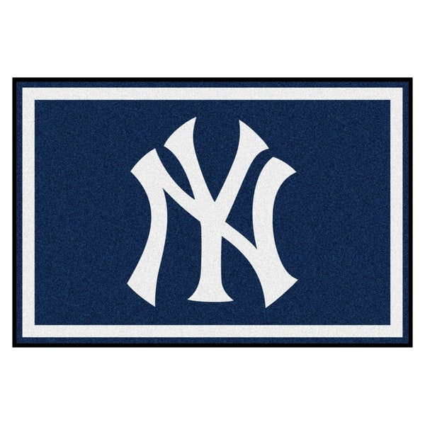 Fanmats MLB New York Yankees Area Rug (5' x 8'). Opens flyout.
