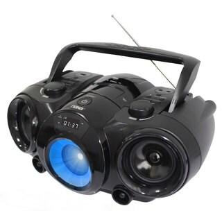 Naxa NPB-261 MP3/CD AM/FM Radio and Bluetooth Portable Boombox