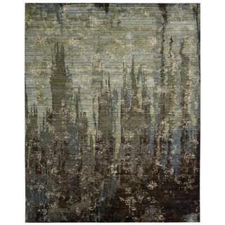 Nourison Rhapsody Seaglass Rug (9'9 x 13')