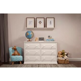 Laurel Creek Edward 6-drawer Double Dresser (Option: White)