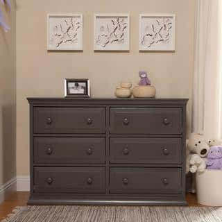 Laurel Creek Edward 6 Drawer Double Dresser