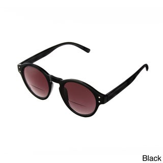 Hot Optix Unisex Large Round Frame Sunglass Readers (More options available)