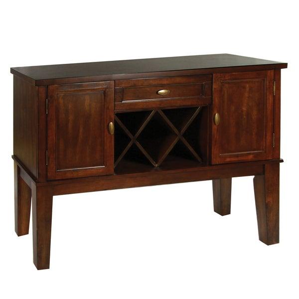 Furniture Of America Belvedere Antique Oak Finish Dining Server