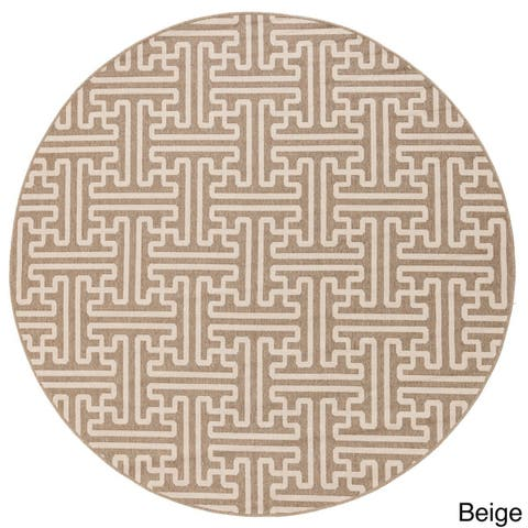 Nikki Greek Key Indoor/Outdoor Area Rug