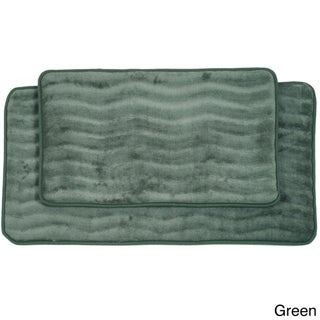 Windsor Home Soft Memory Foam Bath Mat 2-piece Set