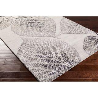 Hand-Tufted Ian Floral New Zealand Wool Area Rug (2' x 3')