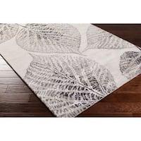 "Hand-Tufted Ian Floral New Zealand Wool Area Rug - 2'6"" x 8'"
