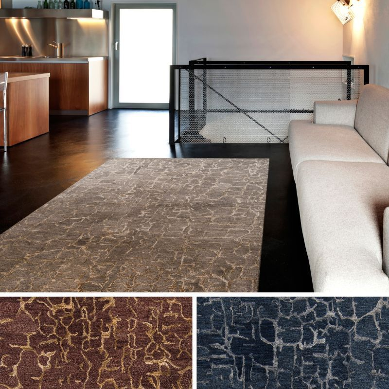 Hand Tufted Jared Abstract New Zealand Wool Area Rug (8' x 11')