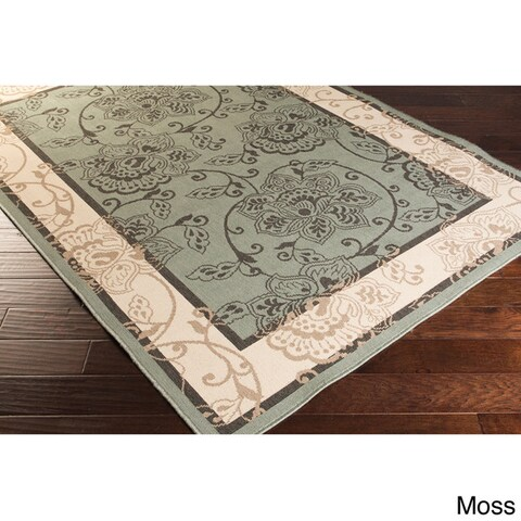 Copper Grove Mountain Floral Indoor/ outdoor Area Rug