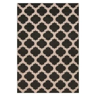Meticulously Woven Jamie Moroccan Trellis Indoor/Outdoor Area Rug (8'9 x 12'9)