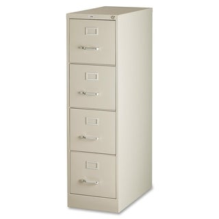 Lorell Putty 4-drawer 52-inch Vertical File