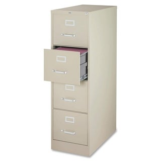 Lorell Putty 52-inch Vertical File Cabinet