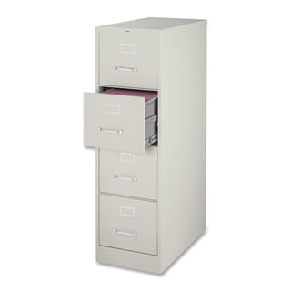 Lorell Light Grey 52-inch Vertical File Cabinet