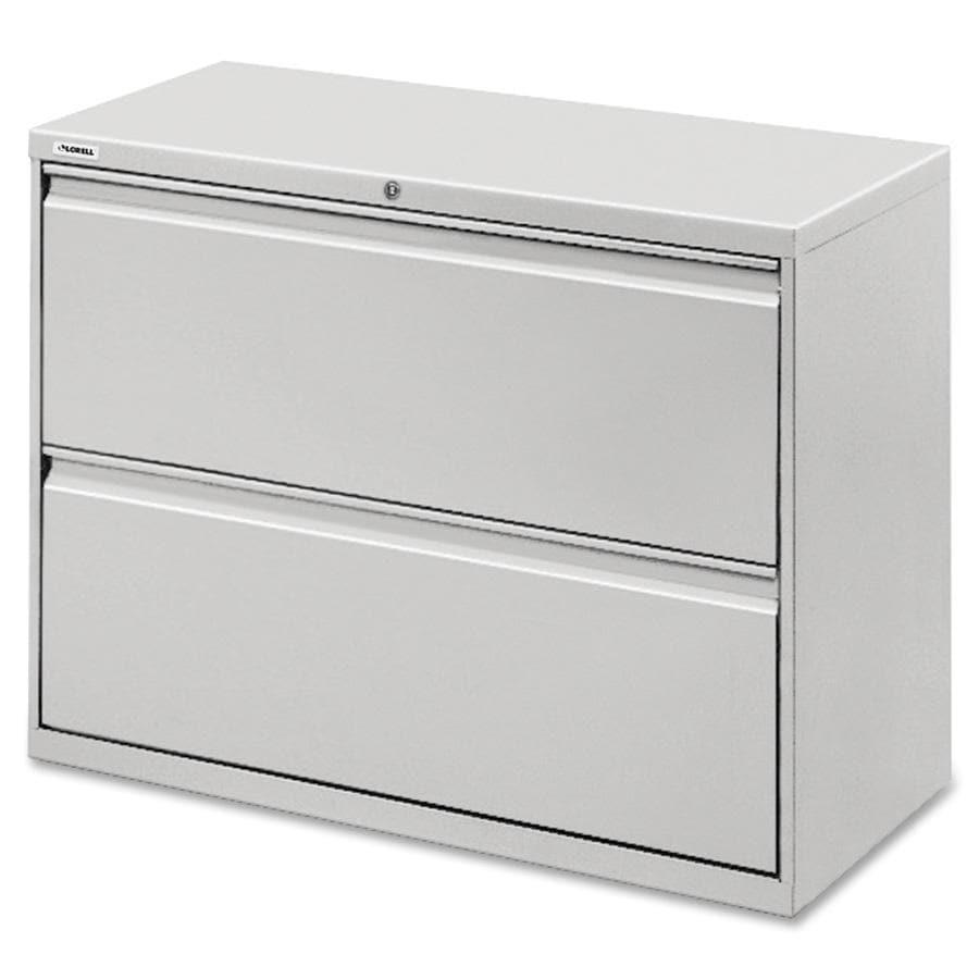 Lorell LLR60448 Light Grey 2-drawer Lateral File (LLR6044...