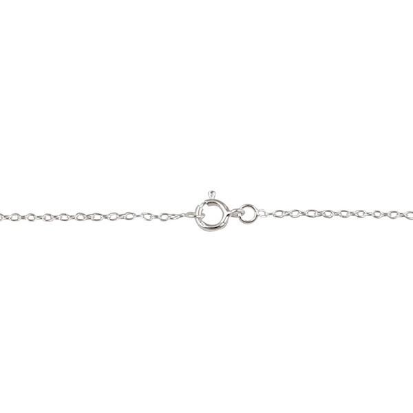 Solid Sterling Silver 2.50 mm Fancy Rolo Chain