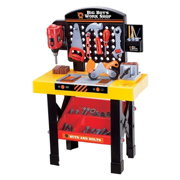 Shop Big Boy S Work Shop 54 Piece Tool Bench Set Free Shipping On Orders Over 45 Overstock