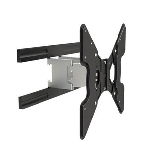 Mount-It! Full Motion, Silver TV Wall Mount Bracket for 27 - 47-inch LCD/ LED/ Plasma Displays with VESA 100x100mm - 400x400mm