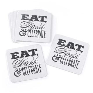 Celebrate Glitter Coasters