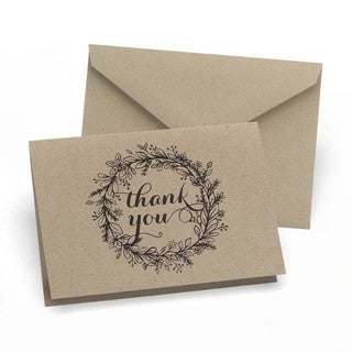 Krafty Thank You Notes