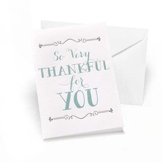 So Very Thankful Thank You Notes