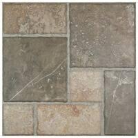 SomerTile 17.75x17.75-inch Salvador Magma Ceramic Floor and Wall Tile (8 tiles/18 sqft.)
