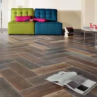 SomerTile 7.875x23.625-inch Fortaleza Antic Ceramic Floor and Wall Tile (9 tiles/12.12 sqft.)