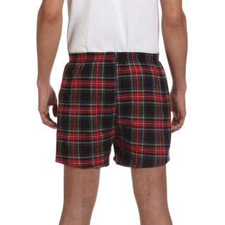 Men's Cotton Flannel Shorts