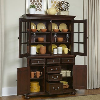 Colonial Classic Buffet and Hutch by Home Styles