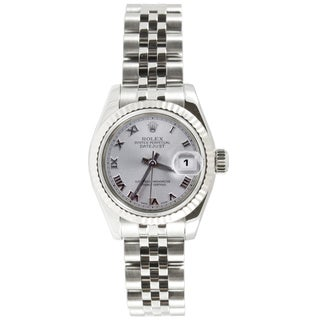Pre-Owned Rolex Women's Datejust Stainless Steel Jubilee Watch