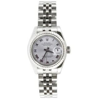 Pre-Owned Rolex Women's Datejust Stainless Steel Jubilee Watch