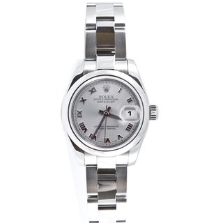 Pre-Owned Rolex Women's Datejust Stainless Steel Oyster Watch