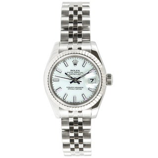 Pre-Owned Rolex Women's Datejust Stainless Steel Jubilee Band Watch