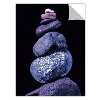 Dean Uhlinger 'Cold Cairn' Removable Wall Art Graphic