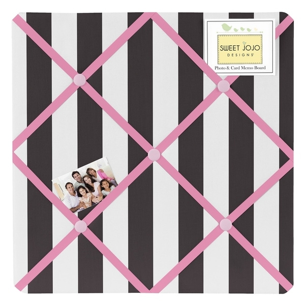 Sweet Jojo Designs Paris Fabric Bulletin Board