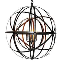 Exquisite Globe Inspired Chandelier