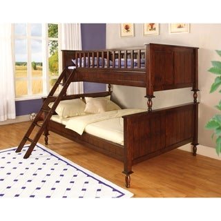 Furniture of America Barstolle Brown Cherry Bunk Bed