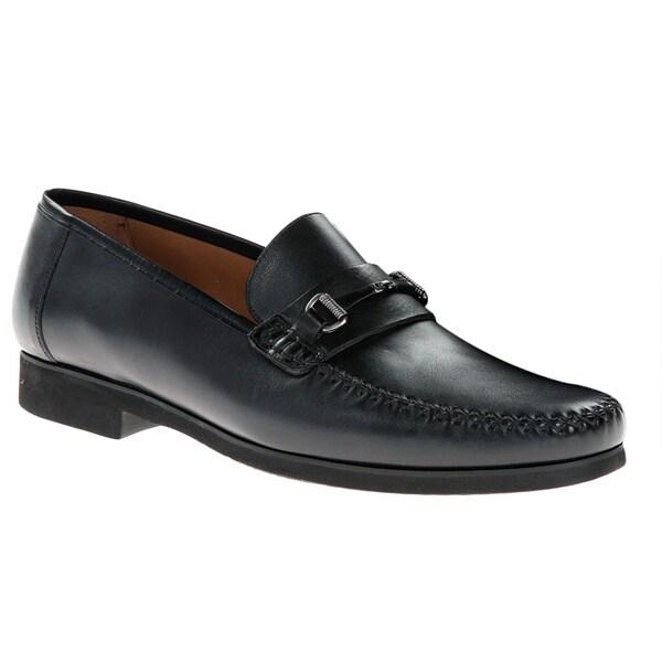 e3751fd7068 Shop Mezlan Men's 'Ghedini 7030' Black Leather Dress Shoes - Free ...