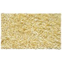 Shaggy Raggy Yellow Cotton Rug (2'8x4'8)