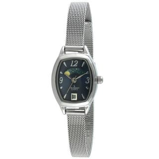 Peugeot Women's 712BL Silvertone Mesh Bracelet Moon Watch|https://ak1.ostkcdn.com/images/products/9270786/P16434772.jpg?impolicy=medium