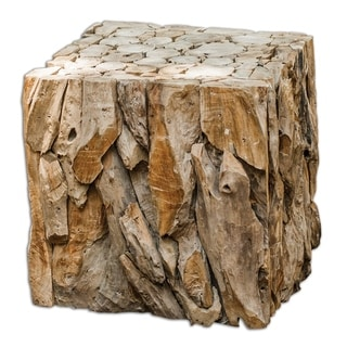 Link to Uttermost Teak Root Bunching Cube Similar Items in Living Room Furniture
